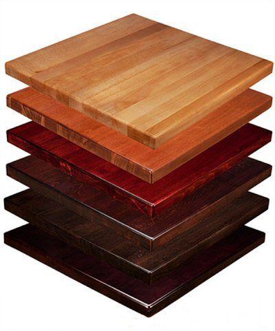 Hardwood Table Tops