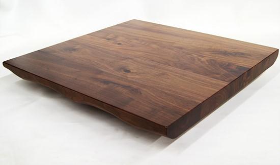 Black Walnut Live Edge Solid Wood Table