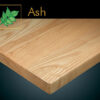 Solid Planked Ash Table Tops